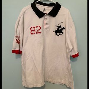 Men's 3X Beverley Hills Polo Club Polo Used